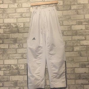 Adidas White Track Pants Size Small